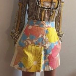 Tracy feith for target mod floral skirt size 5
